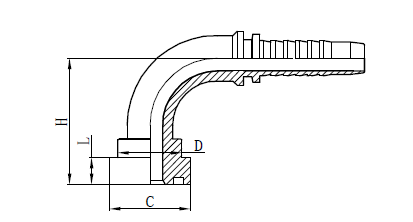 4SH خرطوم الجمعية تركيب الرسم