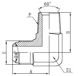BSPT ذكر محول موصلات الرسم